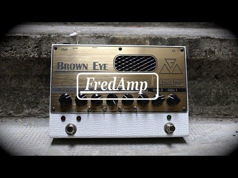 Fredamp Brown Eye Preamp - Billy Idol - Rebel Yell cover