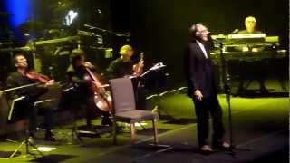 Franco Battiato - Il re del mondo (live, Roma 17/03/2012)