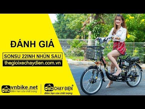 Đánh giá xe đạp điện Sonsu 22inh nhún sau