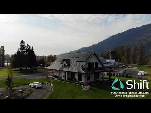 8kW Full Black Solar - Fraser Valley