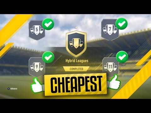 FREE 25k PACKS | HYBRID LEAGUE SBC | CHEAPEST Hybrid League SBC FIFA 17 Tutorial Amazing Rewards