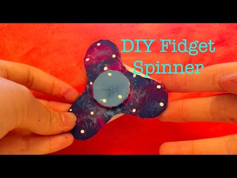 DIY Fidget Spinner /without bearings