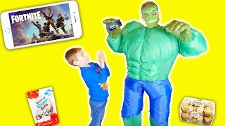 IL PERD À FORTNITE, IL S'ENERVE !!! - Angry Kids On Fortnite 😡