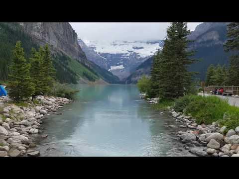 Look Natural and Mountains at Friday, Banff