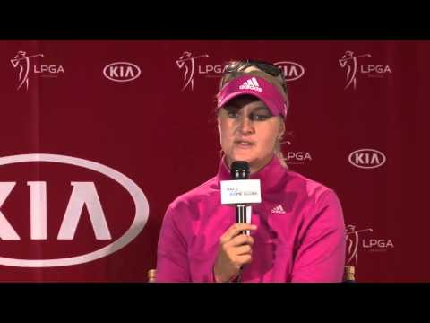 Anna Nordqvist's Winner's Interview from the 2014 Kia Classic