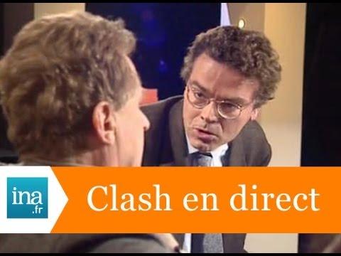 Le clash Jean-Marie STRAUB / Philippe QUEAU  - Archive INA