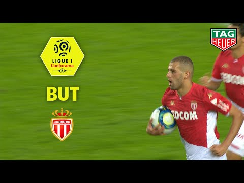 But Islam SLIMANI (56') / AS Monaco - Stade Rennais FC (3-2)  (ASM-SRFC)/ 2019-20