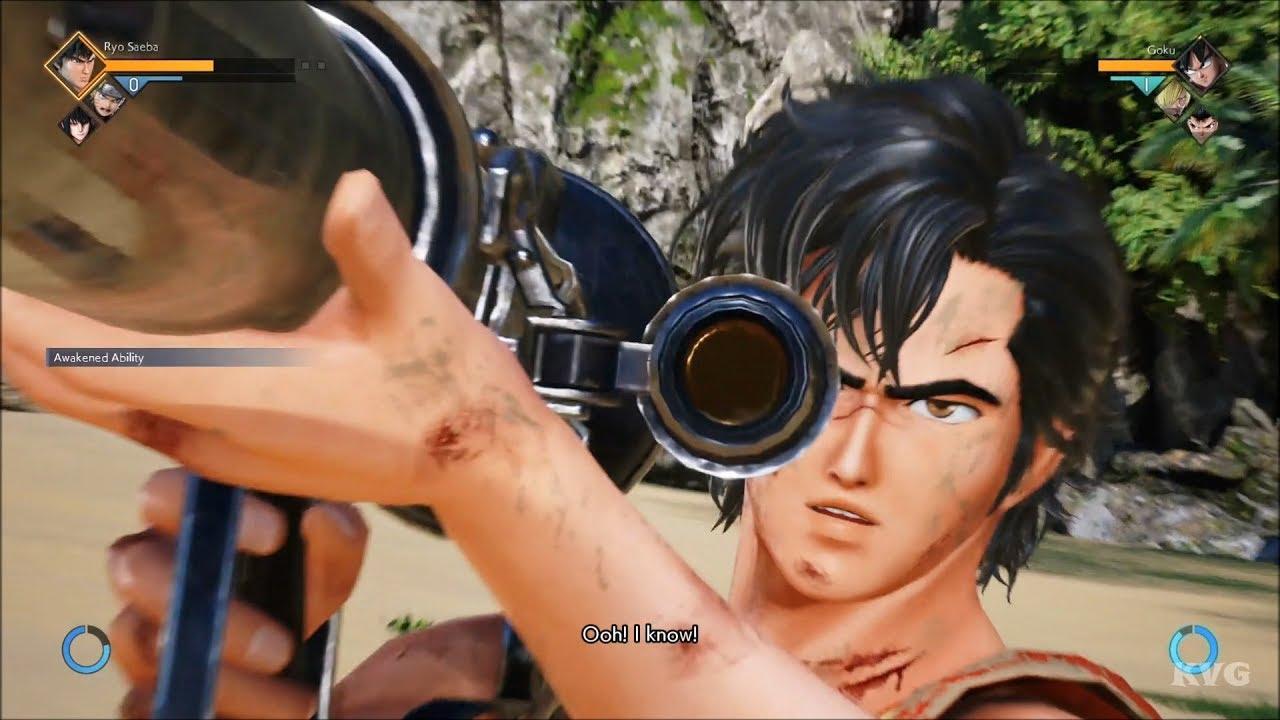 Jump Force – Ryo Saeba Gameplay (PS4 HD) [1080p60FPS]