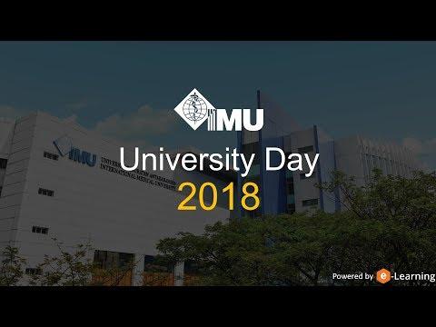 IMU Univesity Day 2018