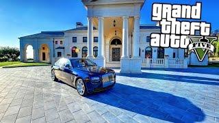GTA 5 ITA MOD VITA REALE #3 - COMPRIAMO UNA CASA DI LUSSO DA 5.000.000 DI DOLLARI!