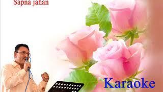 sapna jahan karaoke for female with male voice