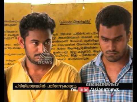Five Gold Chain Snatchers arrested in Konni   FIR 17 Jan 2016