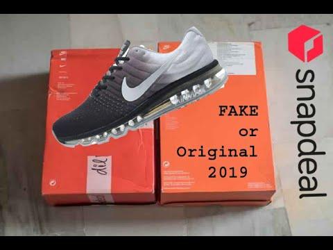 air max 2017 real vs fake