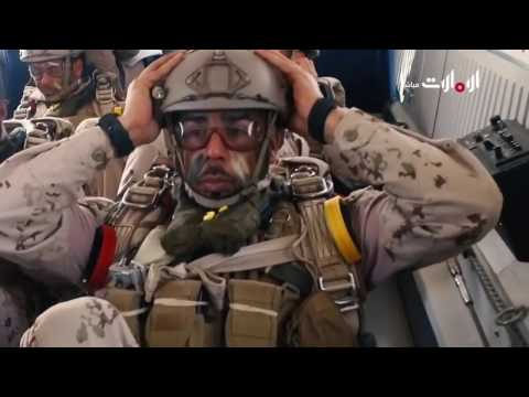 العرض العسكري حصن الاتحاد من كورنيش العاصمة أبوظبي