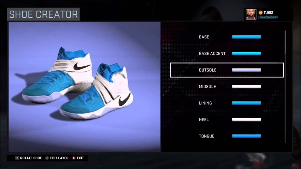 NBA2K16 Shoe Creatoor- Nike Kyrie Irving 2 \