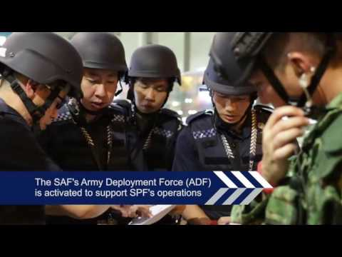 MULTI-AGENCY ISLANDWIDE COUNTER-TERRORISM EXERCISE CONCLUDED SUCCESSFULLY