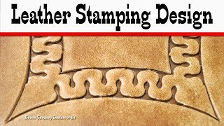 Download Leather Stamping Design with D447 Bruce Cheaney Leathercraft Tutorial Mp3 and Videos