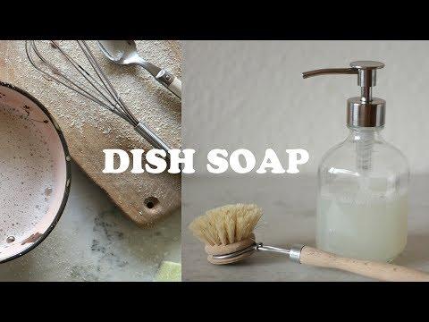 DISH SOAP   natural, diy   Kathrin Jona