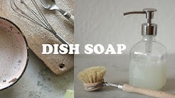 DISH SOAP | natural, diy | Kathrin Jona