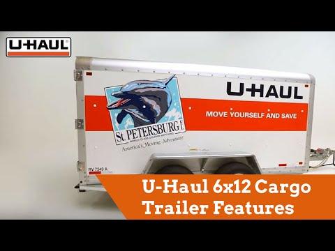 U-Haul 6x12 Cargo Trailer Features