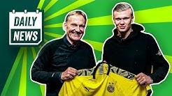 Transfer News: Haaland zum BVB! Geht deshalb Alcácer?  Boateng zu Arsenal?
