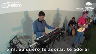 SE NAO FOR PRA TE ADORAR | TOQUE NO ALTAR | Voz, violão, Teclado & Percussão