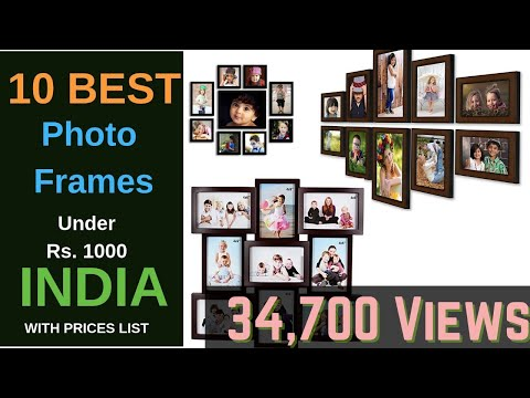 Best Selling Photo Frames in India 2019 Under ₹ 1,000