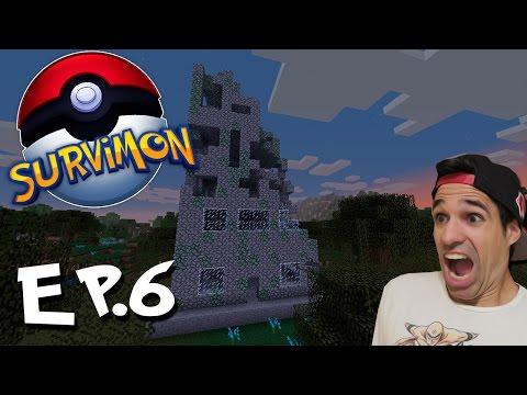 LA TORRE FANTASMA | SurviMon Pokémon En Minecraft | Episodio 6