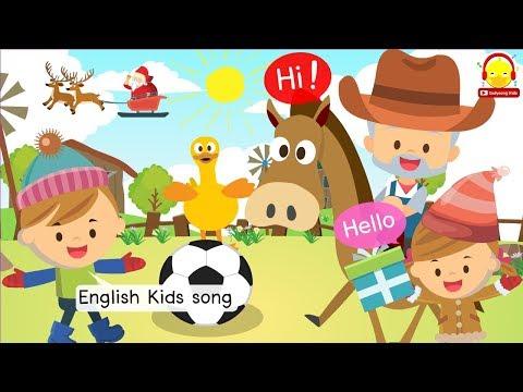 เพลงเด็กภาษาอังกฤษ / รวมเพลงเด็กอนุบาล / indysong kids