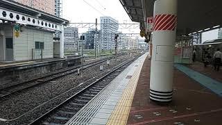 【博多駅・415系・普通】415系FM1518普通南福岡(熊本)行発車シーン