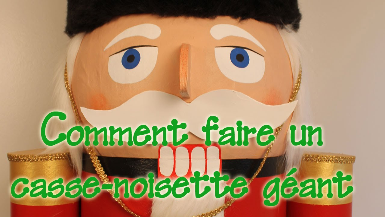 Comment faire un casse noisette g ant youtube - Comment faire une pergola soi meme ...