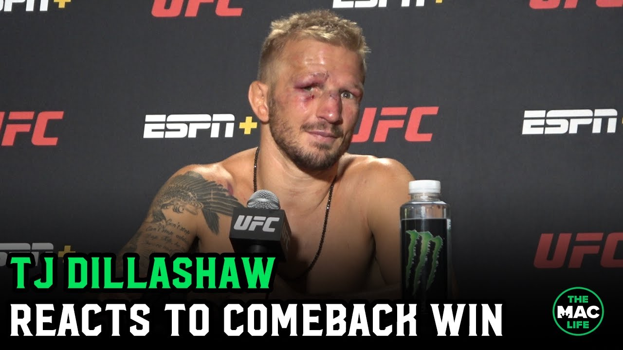 TJ Dillashaw reacts to Cory Sandhagen win; reveals multiple injuries going into fight