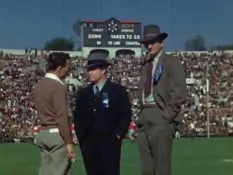 1943 Rose Bowl Home Movie Reel #2