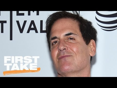 Mark Cuban Was Just 'Telling You The Truth' About Mavs Tanking | First Take | May 18, 2017