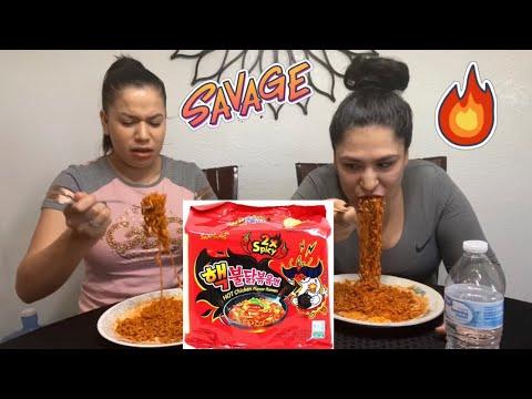 Spiciest Noodle Challenge * Hilarious