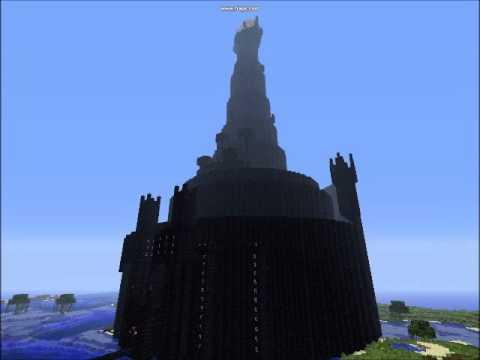 Minecraft Tower of BaradDur Eye of Sauron YouTube