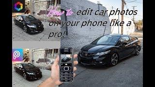 "How to ""PROFESSIONALLY"" edit your CAR photos on your phone!..........*ˢᵒʳᵗᵃ*"