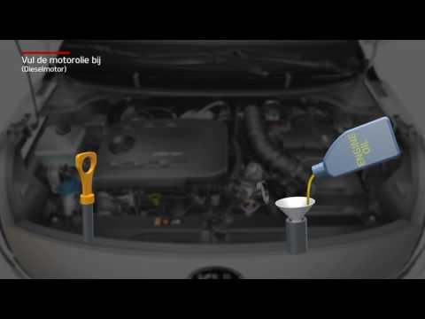 Rio - Vul de motorolie bij [Dieselmotor] (For Netherlands)