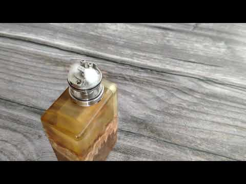 How to change airflow insert - Mulan MTL RDTA - YouTube