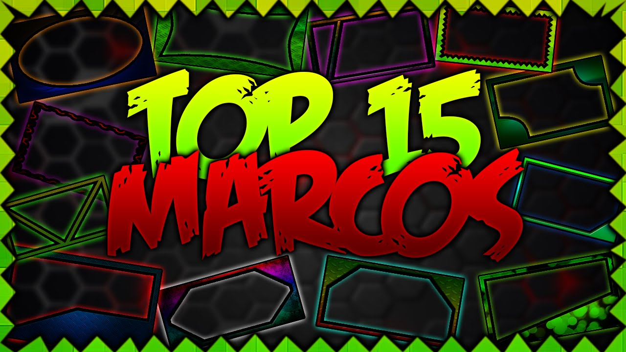 Top 15 // Pack De Marcos Para Miniaturas De Youtube Y Para Fotos ...