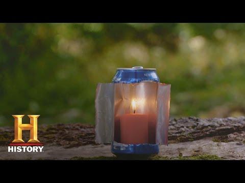 Alone: Survival Hacks: Soda Can | History