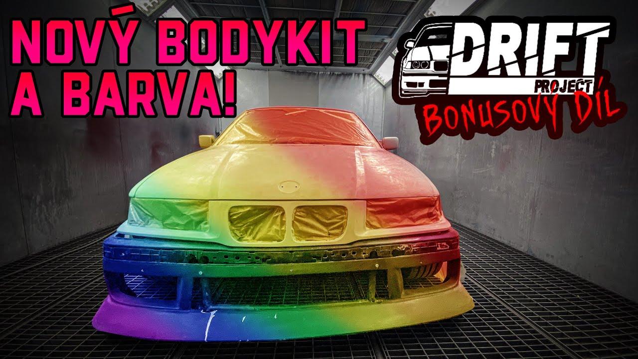 Nový bodykit a barva na E36 | DRIFT PROJECT bonusový díl!