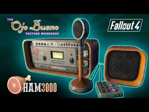 Fallout 4 - Ojo Bueno HAM 3000 Radio   |   2K, 1K  Retexture