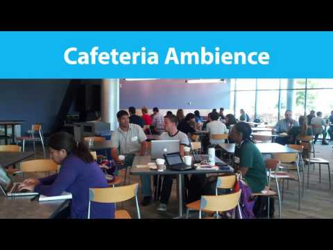 10 MINUTES - Cafeteria Ambience (CC BY 4.0)