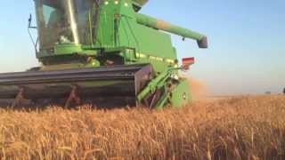 2013 West Texas Wheat Harvest