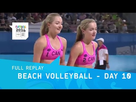 Beach Volleyball - Women's Bronze & Gold Medal | Full Replay | Nanjing 2014 Youth Olympic Games