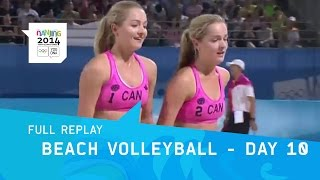 Beach Volleyball - Women's Bronze & Gold Medal | Full Replay | Nanjing 2014 Youth Olympic Games thumbnail