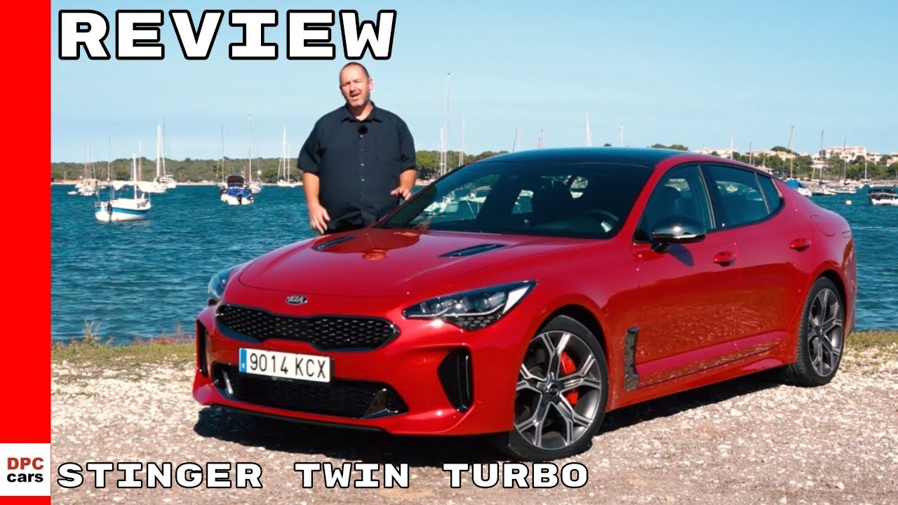 2018 kia stinger gt v6 twin turbo review youtube. Black Bedroom Furniture Sets. Home Design Ideas