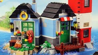 Latarnia morska - 31051 - Lego Creator - Unboxing Video