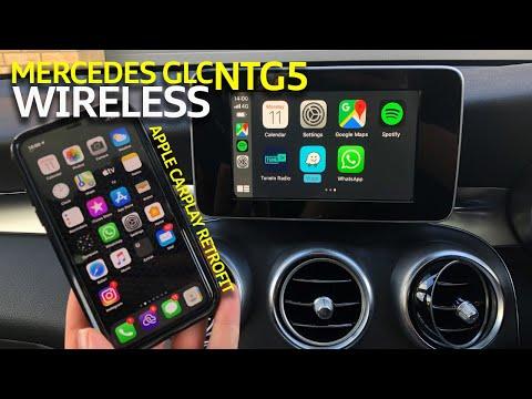 Mercedes COMAND NTG5 GLC Wireless Apple CarPlay Retrofit